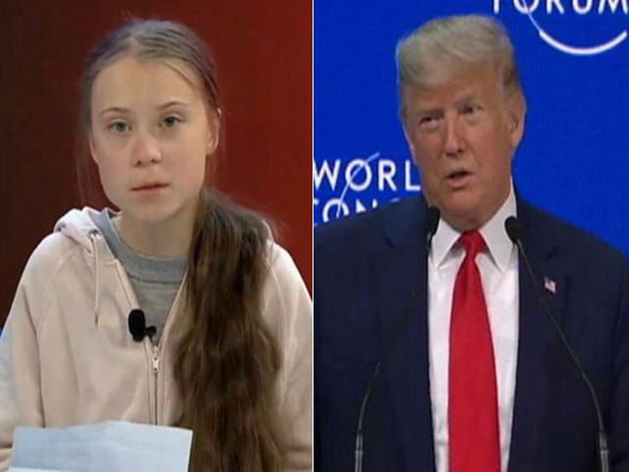 NDTV At Davos: Donald Trump And Greta Thunberg The Showstoppers