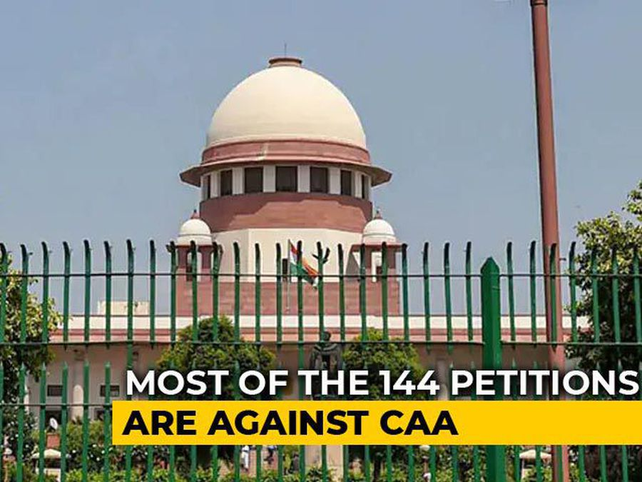 Over 140 Petitions Challenging Citizenship Law In Supreme Court Today