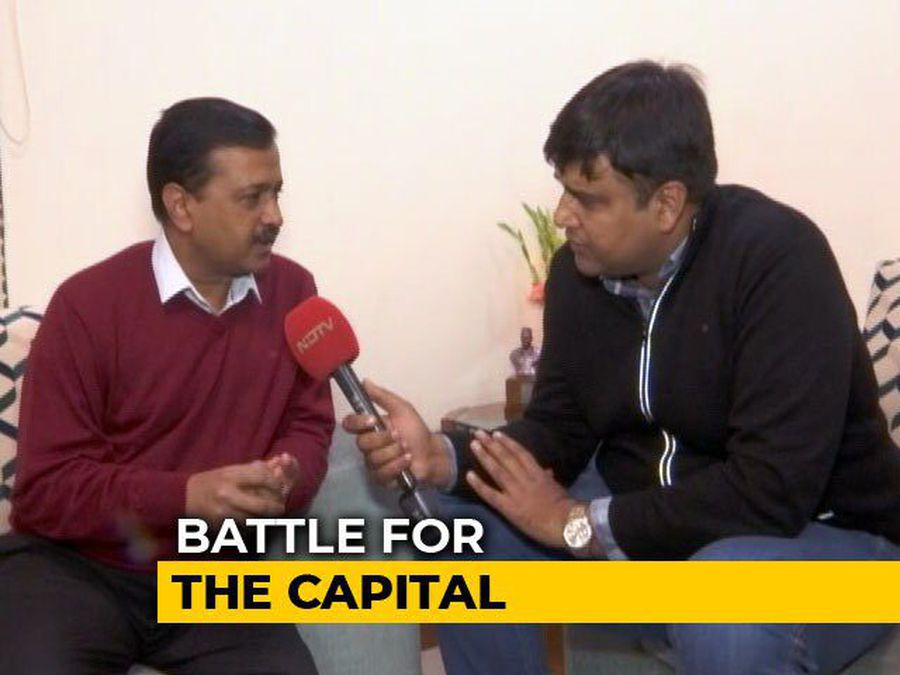 """Please Think Of Schools, Hospitals"": Arvind Kejriwal's Appeal To Delhi"