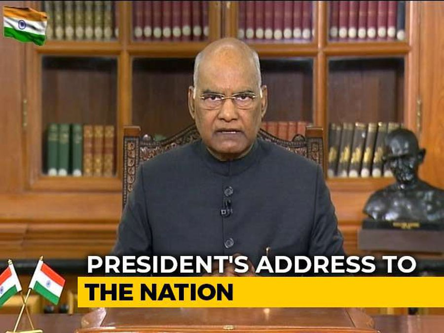 President Addresses Nation On Eve Of Republic Day