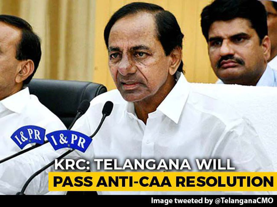 Telangana May Pass Resolution Against Citizenship Law, Says Chief Minister