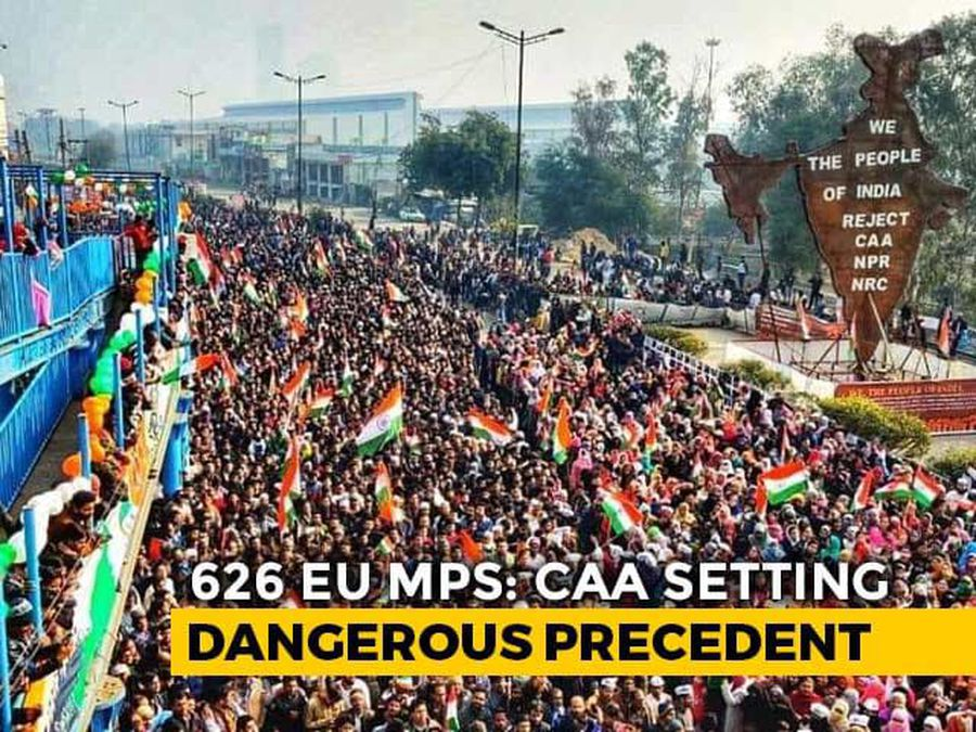 """""""Entirely Internal"""": India As 600 EU Lawmakers Move Anti-CAA Resolutions"""