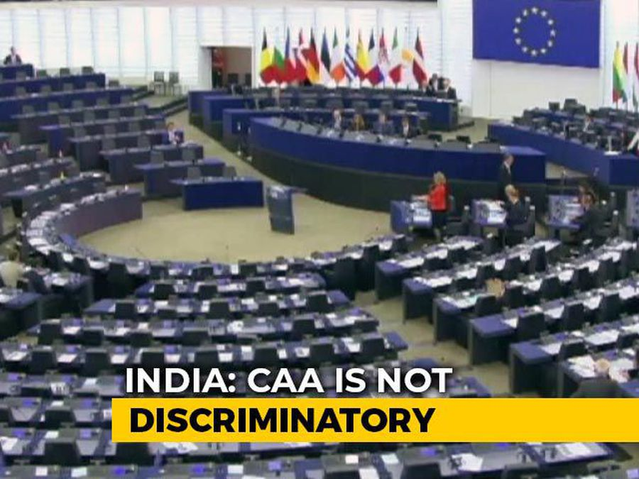 Debate On CAA In European Parliament Today, Possible Vote Tomorrow