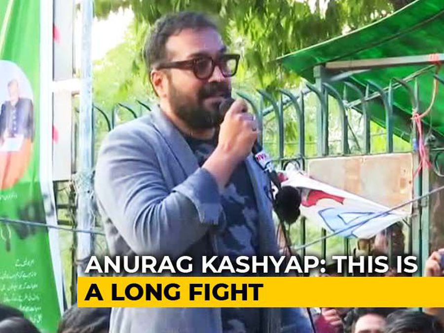 """""""Long Fight, Will Have To Be Patient"""": Anurag Kashyap Joins CAA Protests At Jamia"""