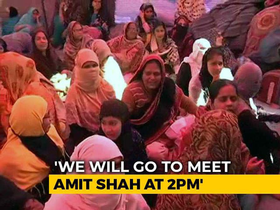 Shaheen Bagh Protesters Say Will Meet Amit Shah On CAA, No Appointment Yet