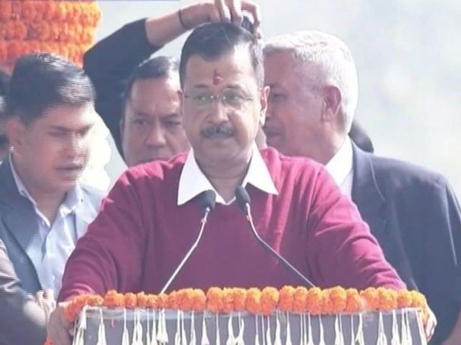 Arvind Kejriwal Takes Oath As Delhi Chief Minister For Third Time