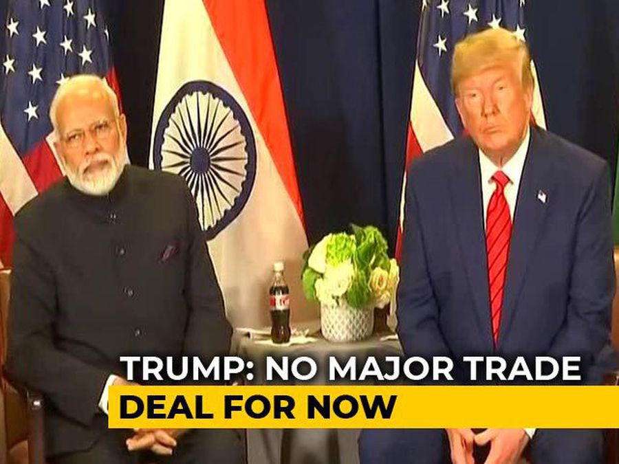 """We're Not Treated Very Well By India"": Trump Raises Doubt On Trade Deal"