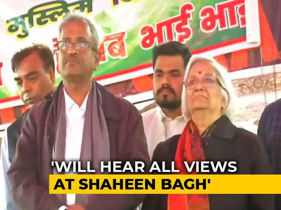 """Let's Resolve Issue Together"": Mediators For Shaheen Bagh To Protesters"