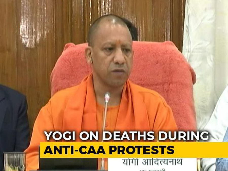 "Controversy Over Yogi Adityanath's ""Death Wish"" Remark On CAA Violence"