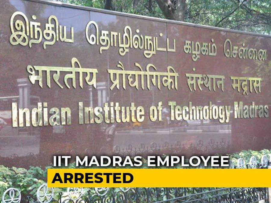 IIT-Madras Project Employee Arrested For Allegedly Filming Student Inside Washroom