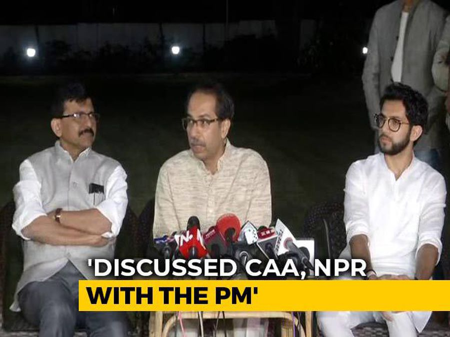 """""""Discussed CAA With PM, Nobody Needs To Be Afraid"""": Uddhav Thackeray"""