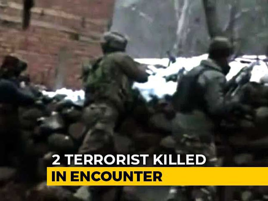 2 Lashkar Terrorists Killed In Encounter With Security Forces In J&K
