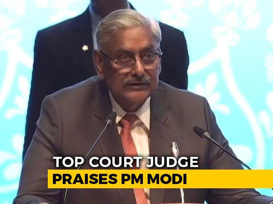 """""""PM Versatile Genius, Thinks Globally And Acts Locally"""": Top Court Judge"""