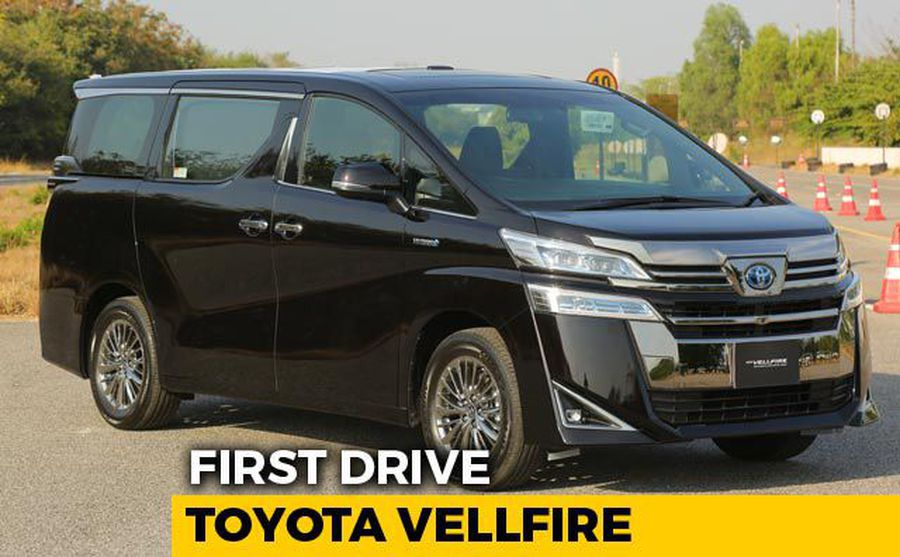 Toyota Vellfire First Drive Review