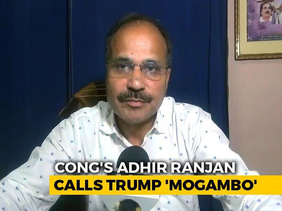 "Congress Leader Likens Donald Trump To Bollywood Villain ""Mogambo"""