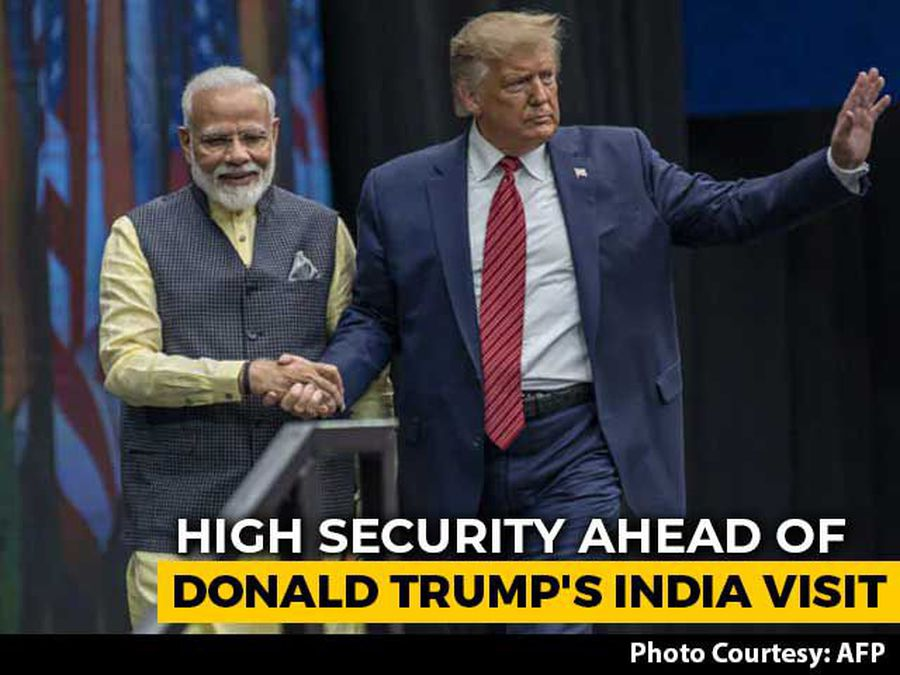 "India Looks Forward To Welcoming POTUS"": PM Ahead Of Trump's Touchdown"