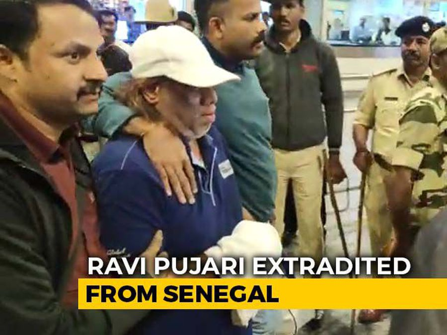 Underworld Gangster Ravi Pujari Extradited From Senegal, Brought To India