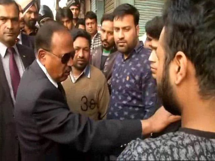 NSA Ajit Doval Visits Violence-Hit Northeast Delhi, Reviews Security