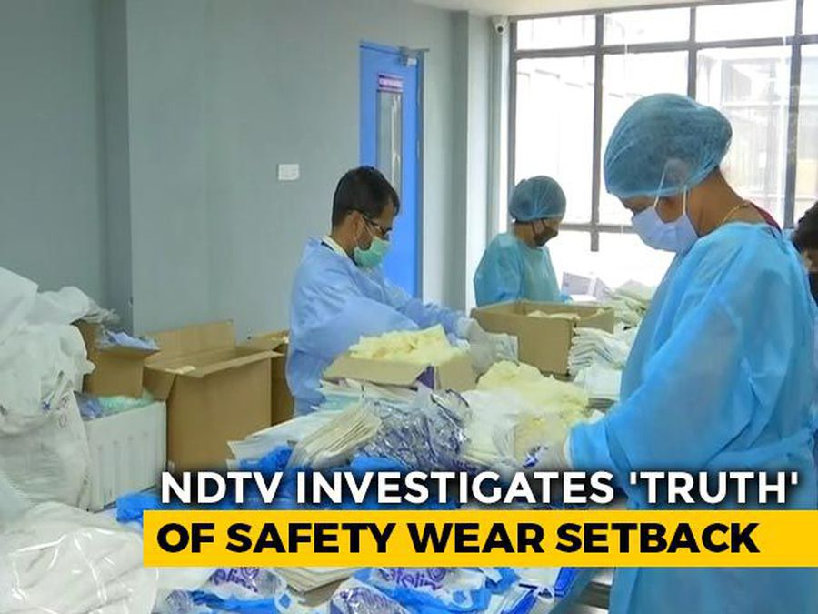 Behind India's Shortage Of Safety Wear: Delays, Clutch Of Small Firms