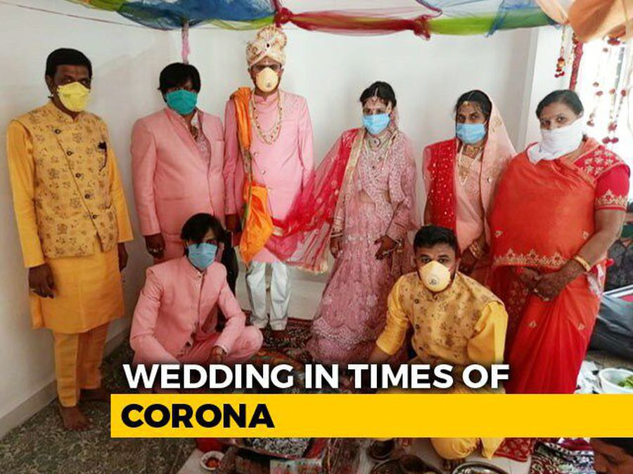 Marriage In The Time Of COVID-19: Sanitisers, Masks At Indore Function