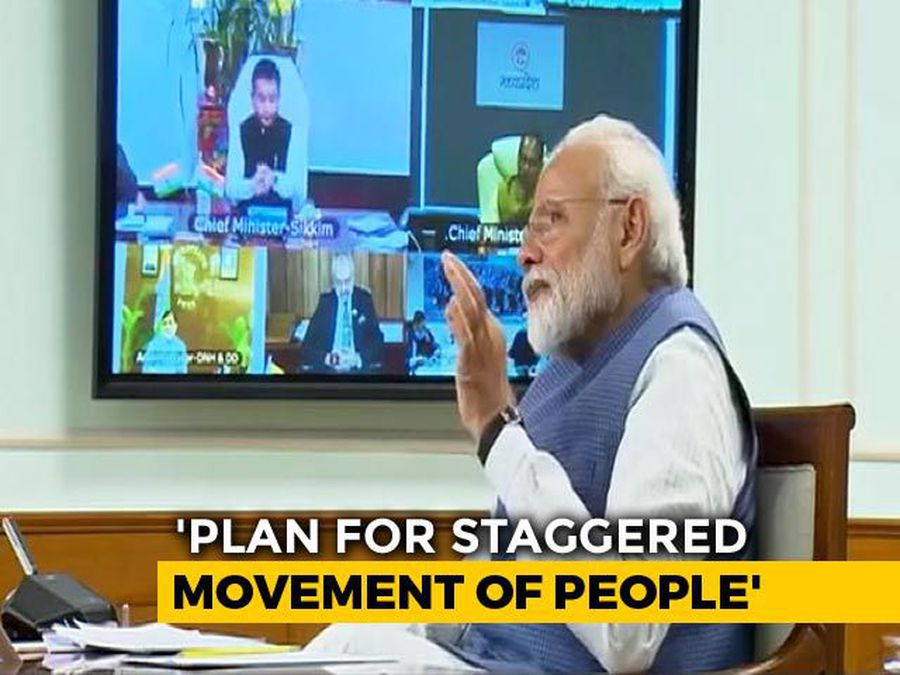 "Need Plan For ""Staggered"" Movement Of People After Lockdown: PM To States"