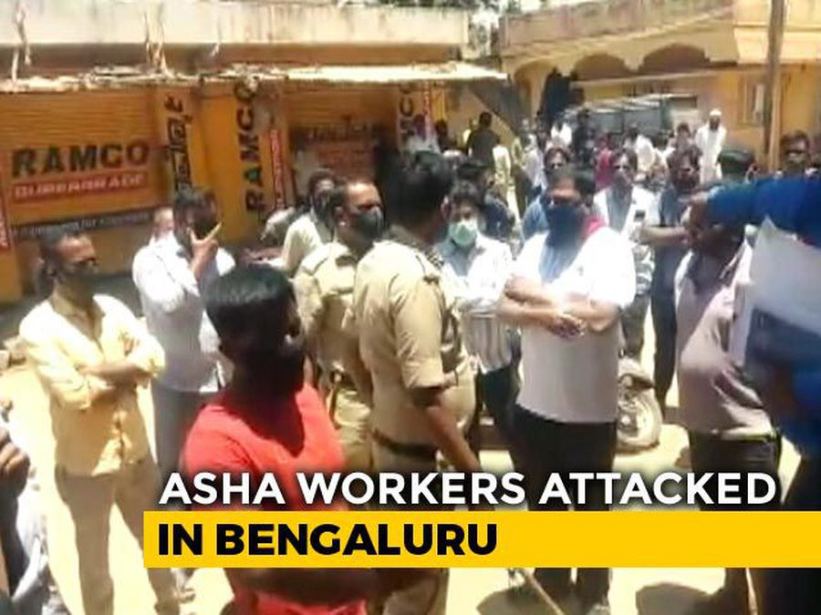 Bengaluru Health Workers On COVID-19 Recce Manhandled By Residents