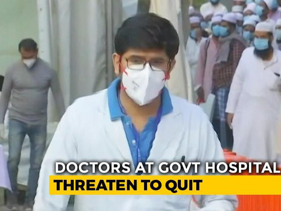 """Delhi Municipal Doctors Protest """"Faulty"""" COVID-19 Protection, Get Warning"""