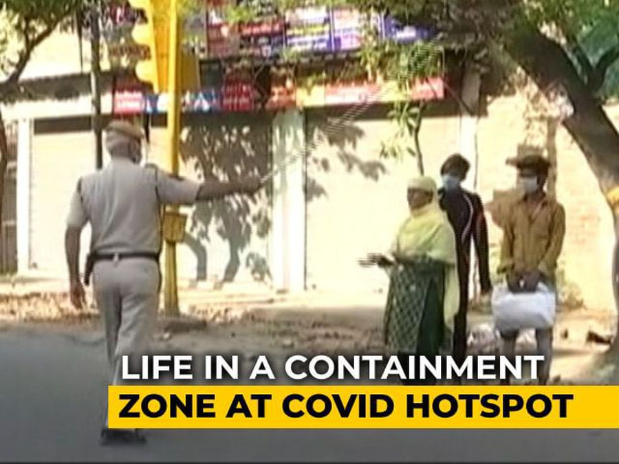 What Life In Delhi's Containment Zones Looks Like Amid Lockdown