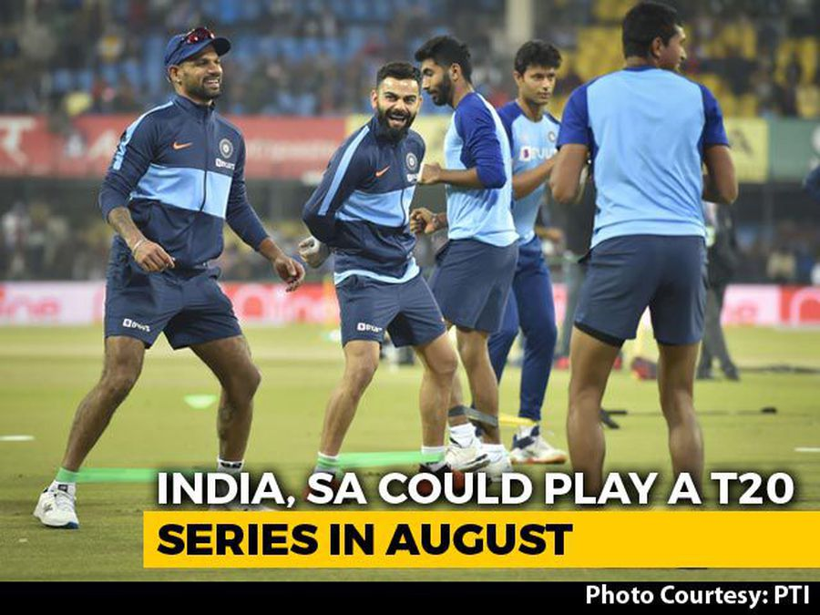India May Tour South Africa In August For Three-Match T20I Series