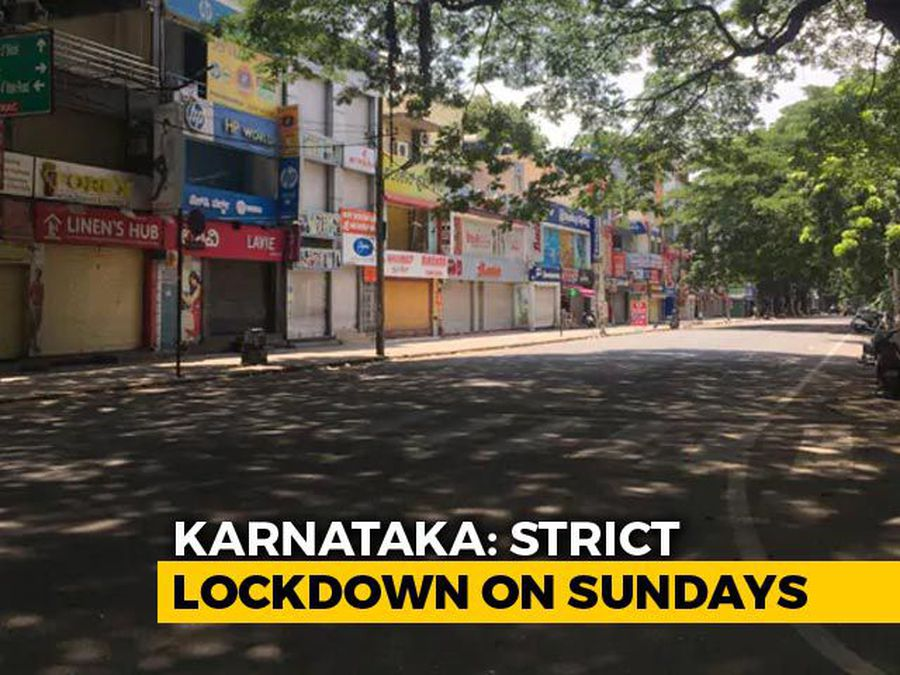 """What Sunday's """"Complete Lockdown"""" Looked Like In Bengaluru"""