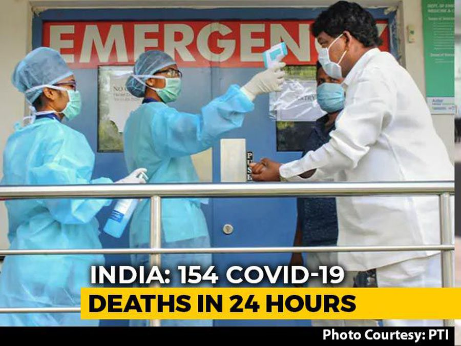 India Among 10 Worst Virus-Hit Nations After 4 Days Of Record Spikes