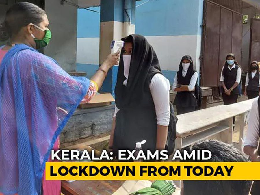 Lakhs Of Kerala School Students To Take Exams From Today Amid Lockdown