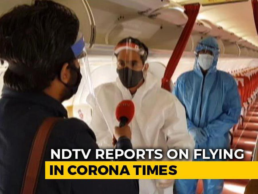 Flying In The Time Of Coronavirus: NDTV On Board A Flight