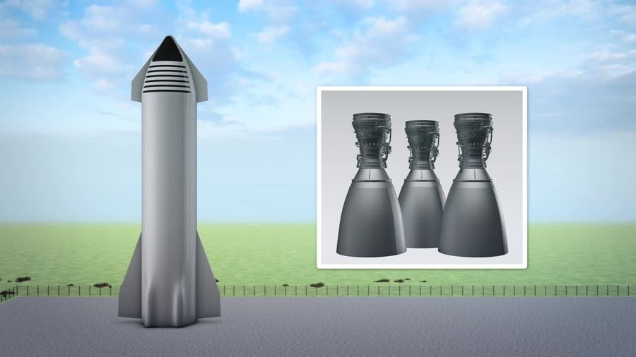 Elon Musk unveils interplanetary plans for Starship spacecraft