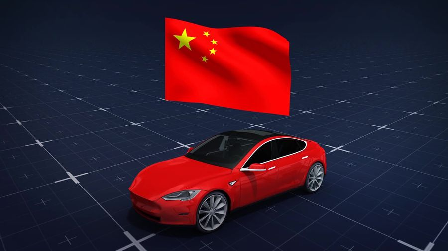 Tesla begins production of its Model 3 cars in China