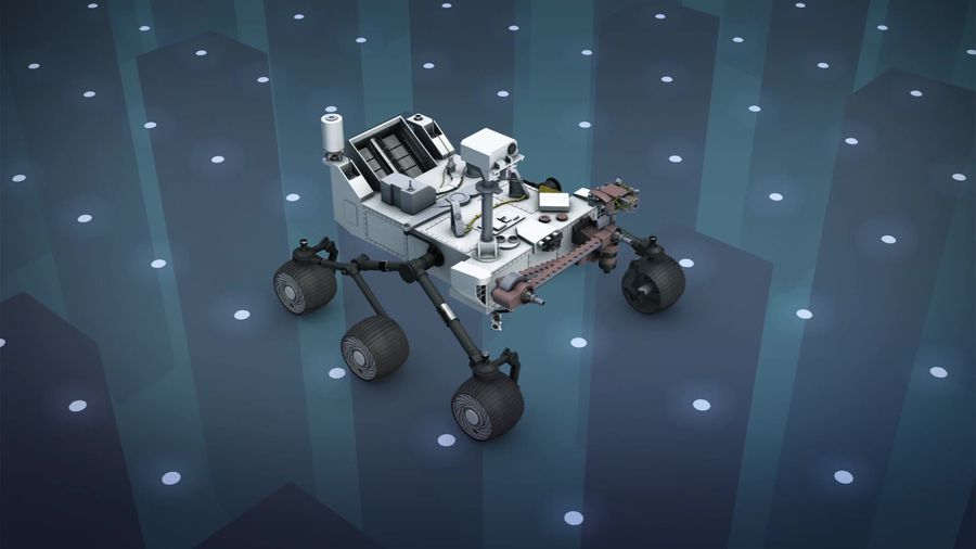 NASA's Mars 2020 rover successfully completes its first test drive