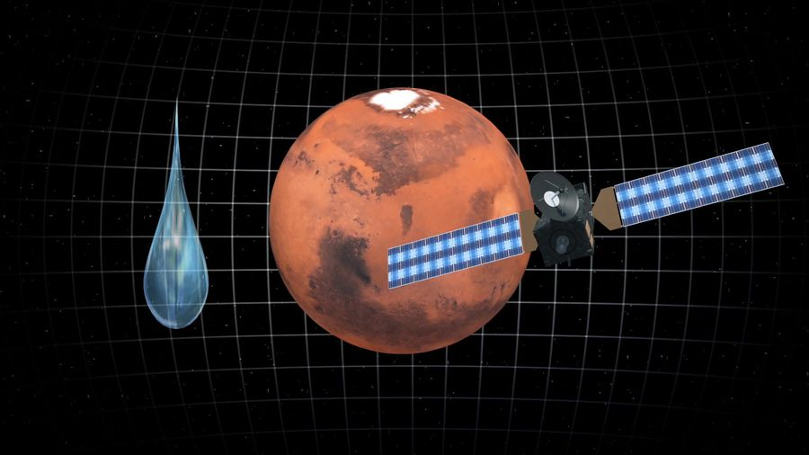 Water on Mars is disappearing faster than expected