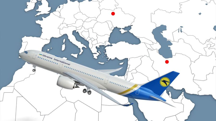 Ukrainian Airlines plane crashes in Tehran, killing all aboard