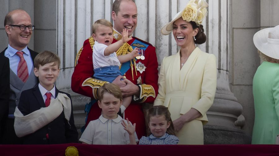 Prince George, Princess Charlotte and Prince Louis' cutest moments