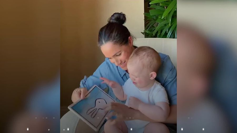 Happy Birthday Archie! Mum Meghan reads him a story