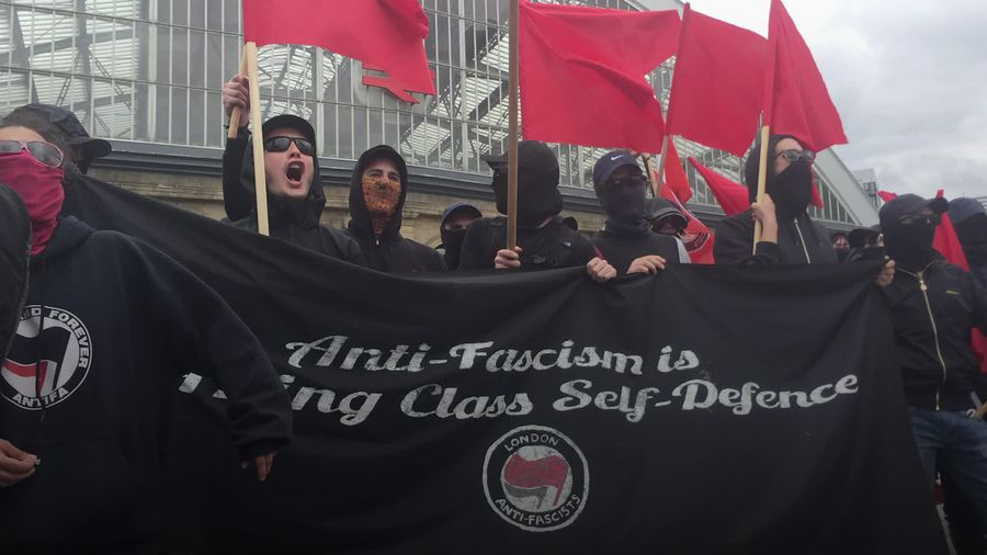 Who are Antifa that President Trump blames for protests?