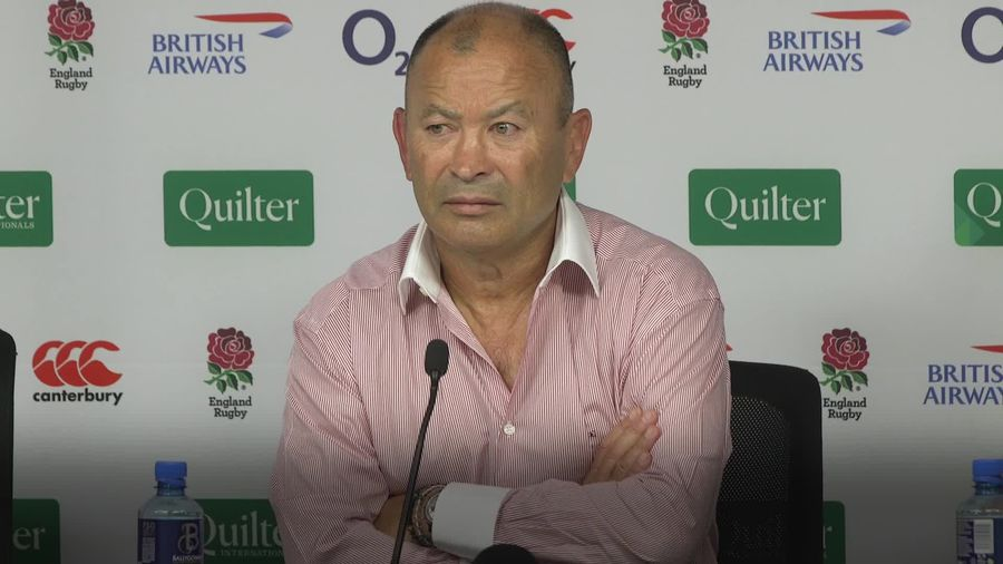 England boss Eddie Jones urges World Rugby to seek consistency on high tackles