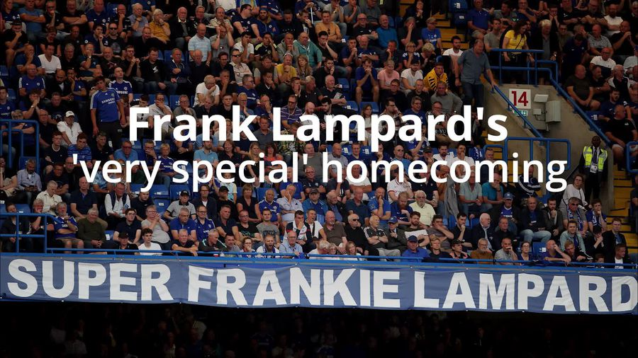 Frank Lampard: It was a very special moment for me
