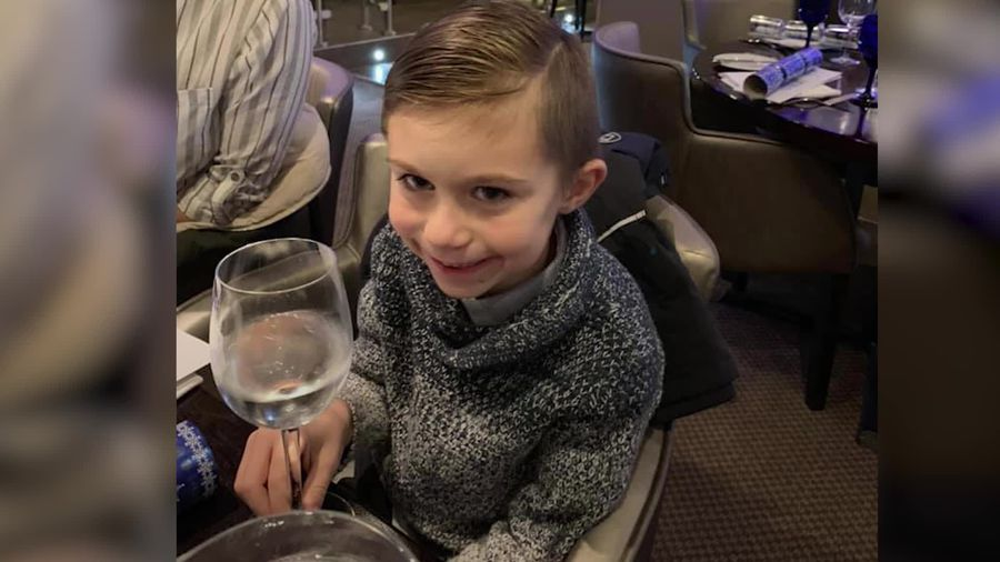 Body found by police searching for six-year-old Lucas Dobson
