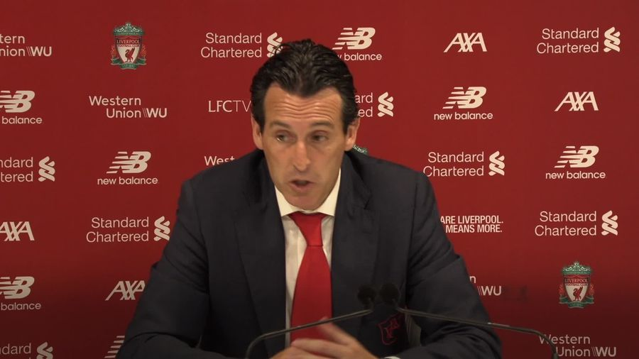 Unai Emery: Arsenal are closing the gap against Liverpool in performance