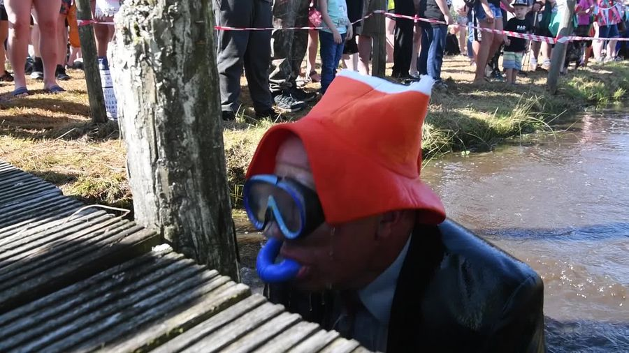 Bonkers Bank Holiday Bog Snorkelling