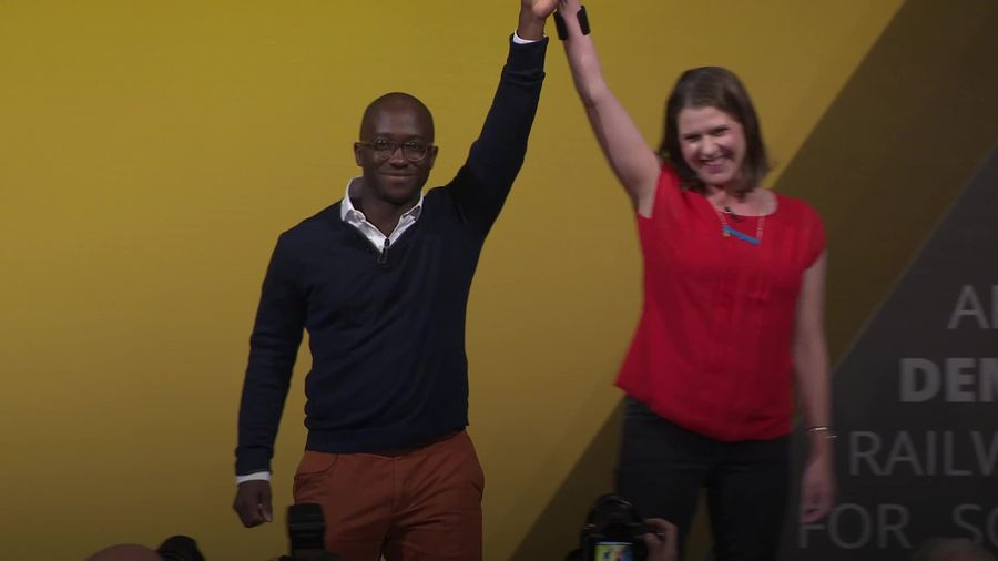 Former Tory minister Sam Gyimah becomes sixth MP to defect to Liberal Democrats