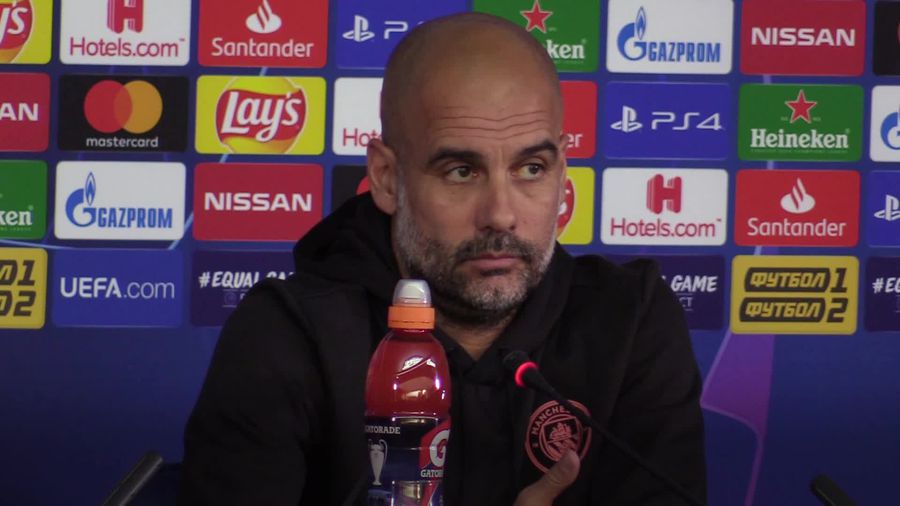 Pep Guardiola relishing finding a solution to Man City's central defensive problems