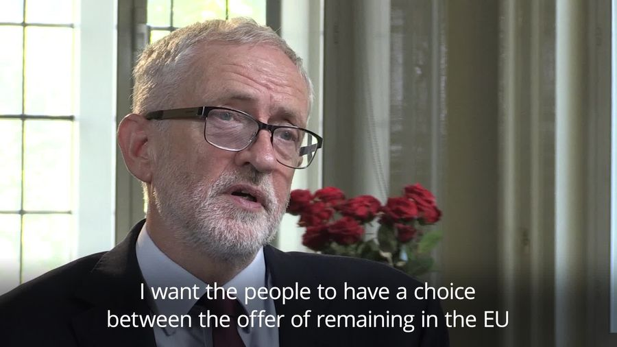 Jeremy Corbyn refuses to say whether he would campaign for Leave or Remain