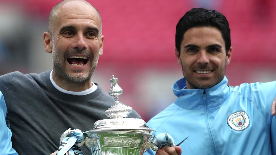 Pep Guardiola: Mikel Arteta could succeed me as manager